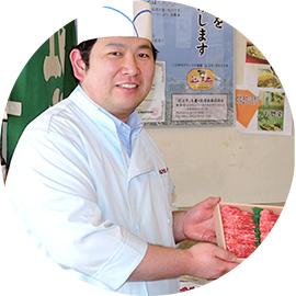 近江牛専門店かねきち 代表取締役 谷口 勝さん